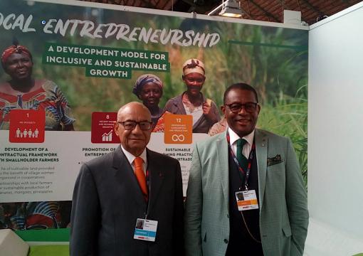 Une délégation d'Afruibana présente aux Journées européennes du développement (EDD)